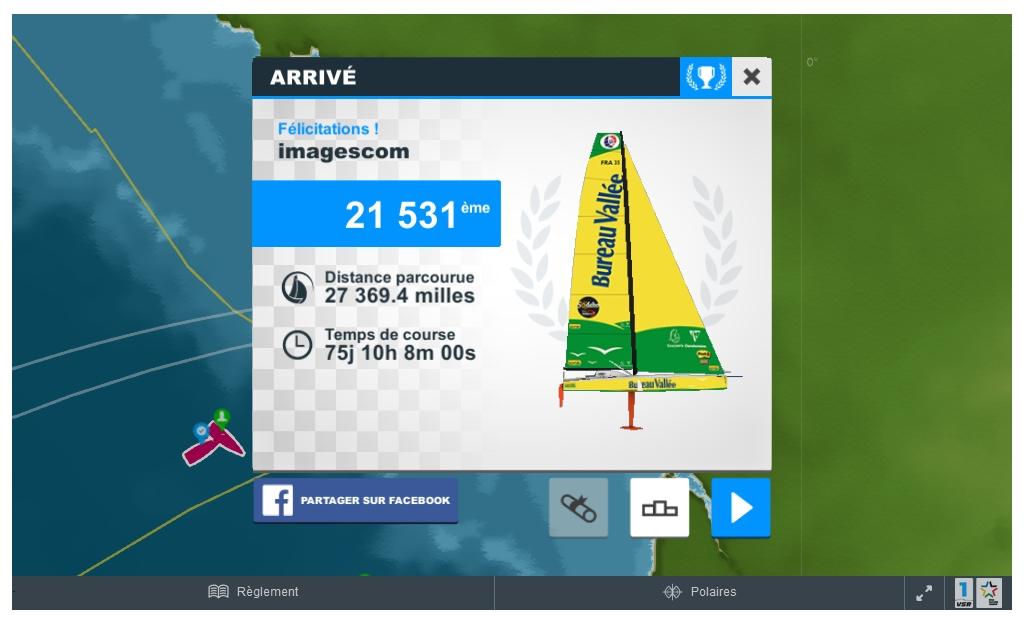 imagescom termine le Vendée Globe virtuel le vendredi 20 janvier !