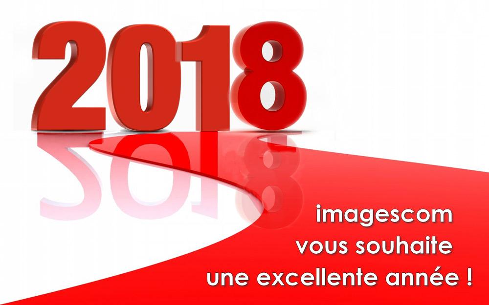 imagescom vous souhaite une excellente année 2018 !