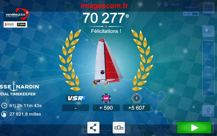 Vendée Globe virtuel, une course au long cours!