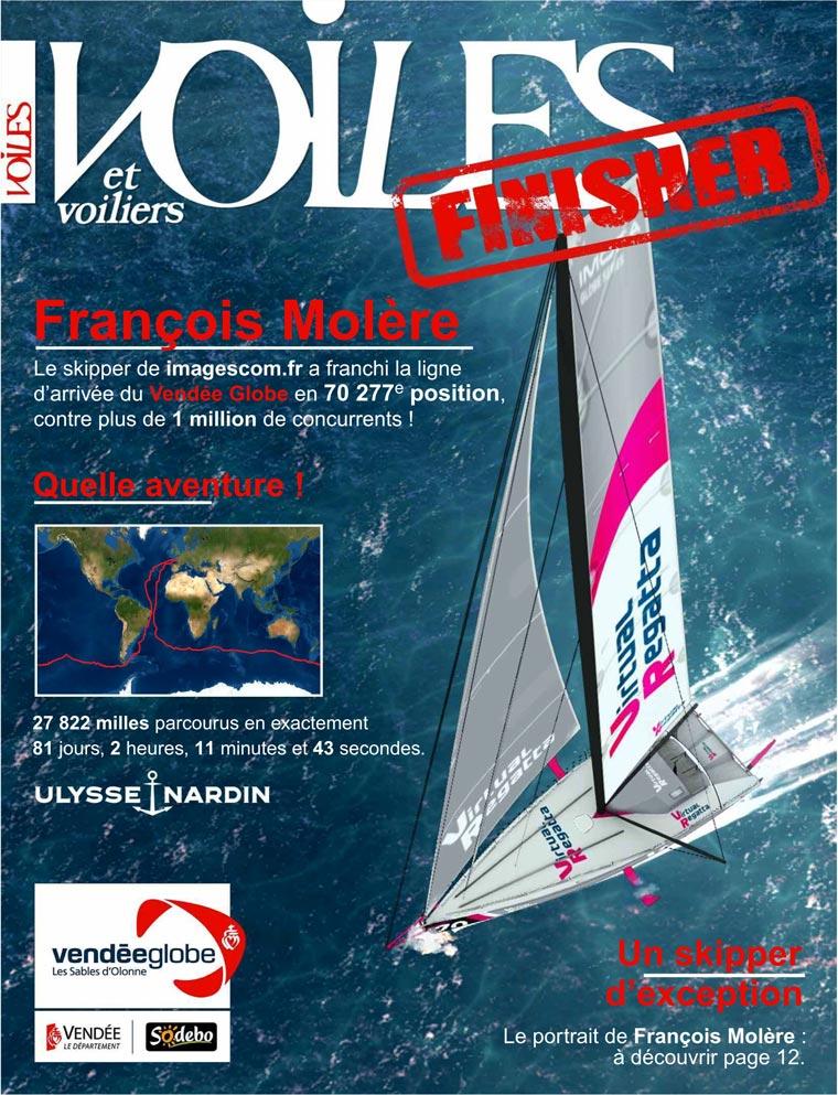 Vendée Globe sur Virtual Regatta: imagescom.fr sur Voiles et voiliers...