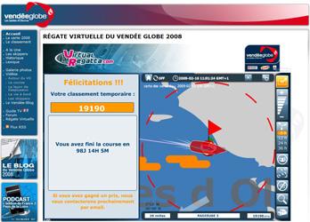 Vendée Globe 2008 : Radieuse 2, le 16 février 2009